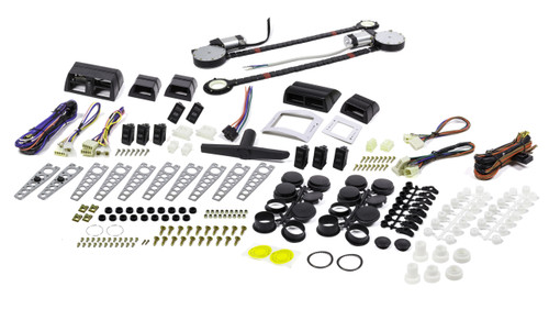 Auto-Loc AUTPW4650 Deluxe 2 Door Power Window Kit