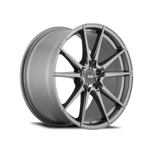 Advanti Racing AP99512456 Appello 19x9.5 5x112 45mm Offset Gloss Graphite W/ Machine Cut Pcd Wheel