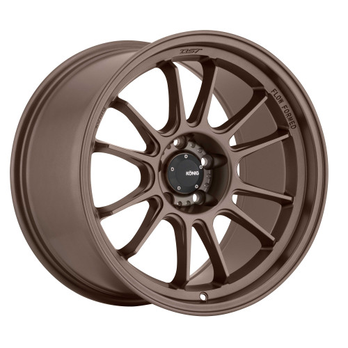 Konig HG97510408 Hypergram 17x9 5x100 40mm Offset Race Bronze Wheel