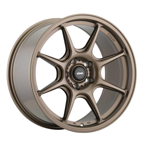 Konig LK87510388 Lockout 17x8 5x100 38mm Offset Matte Bronze Wheel