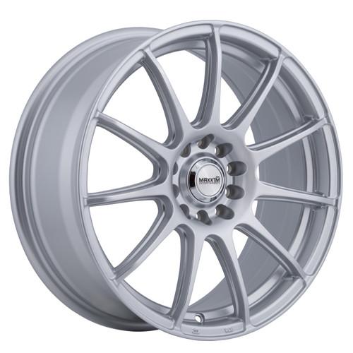Maxxim WN77T1540S Winner 17x7 10x110 10x115 40mm Offset Full Silver Wheel