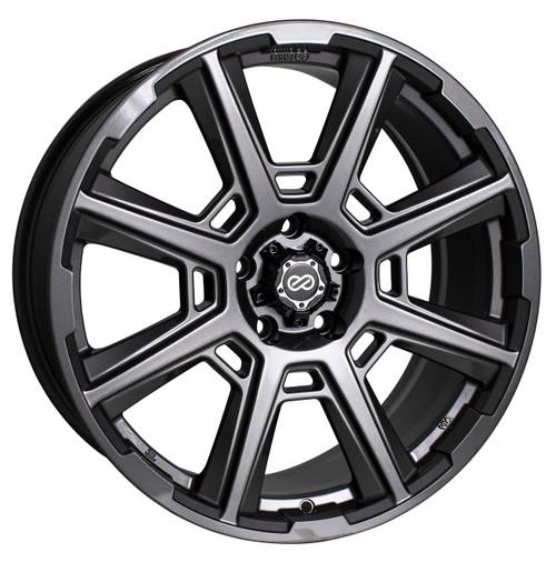 Enkei 525-880-7335AP Storm Anthracite Performance Wheel 18x8 5x127 35mm Offset 72.6mm Bore