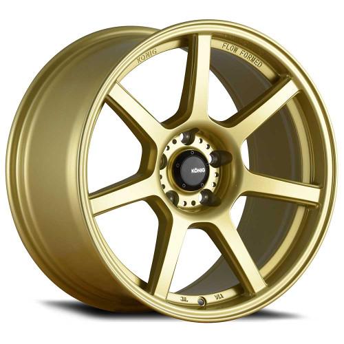 Konig UF08514257 Ultraform 18x10.5 5x114.3 25mm Offset Gold Wheel