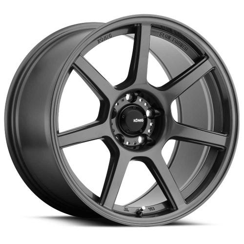 Konig UF98514386 Ultraform 18x9 5x114.3 38mm Offset Gloss Graphite Wheel