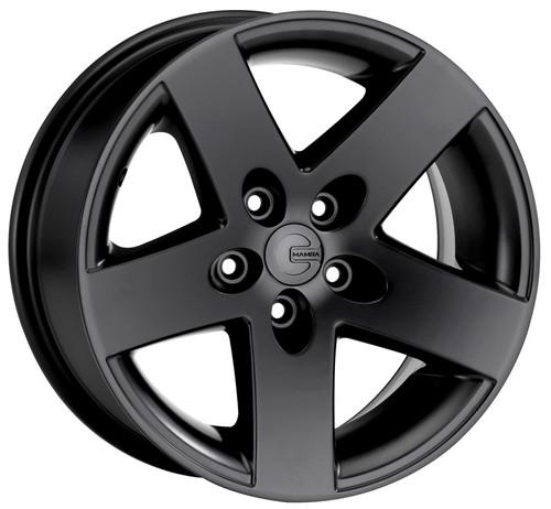 Mamba MR1X787306B Mr1X 17x8 5x127 6mm Offset Matte Black Wheel