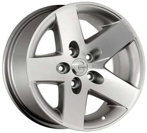 Mamba MR1X787306S Mr1X 17x8 5x127 6mm Offset Silver Wheel