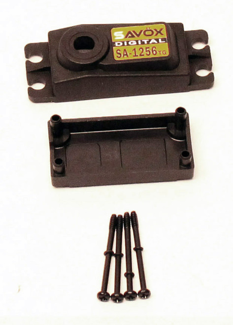 Savox SCSA1256TG TOP AND BOTTOM SERVO CASE WITH SCREWS FOR SGSA1256TG