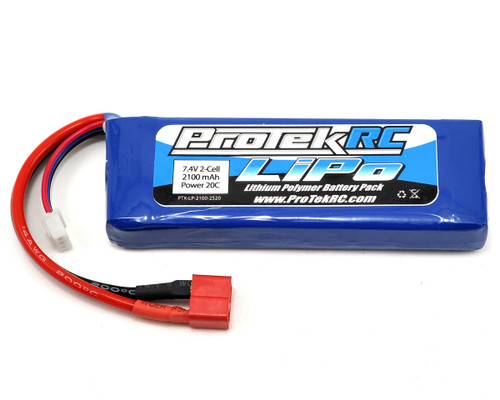 Protek R/C 5177 2S Li-Poly 20C Battery Pack (7.4V/2100mAh)