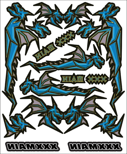 XXX Main Racing R019 Dragon's Wrath Internal Graphic