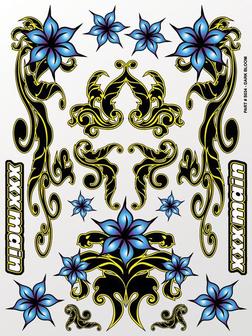 XXX Main Racing S034 Dark Bloom Sticker Sheet