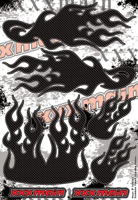 XXX Main Racing V002C Carbon Fiber Flames