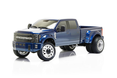 CEN Racing 8980 Ford F450 1/10 4WD Solid Axle RTR Truck - Blue