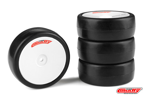 Corally 14752-28 Team Corally Attack RXC V2 Rubber Tires - 1/10 EP Touring