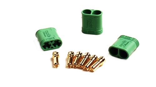 Castle Creations 011-0075-00 4.0mm Polarized Connectors-Male Multi-Pack