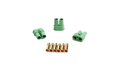 Castle Creations 011-0076-00 4.0mm Polarized Connectors-Female Multi-Pack