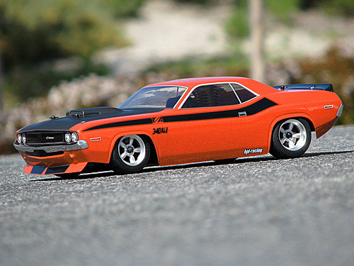 HPI Racing 105106 1970 Dodge Challenger Body (200mm)