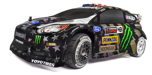 HPI Racing 120036 Ken Block GYM8 Flux Ford Fiesta ST RX43 WR8 (Electric)