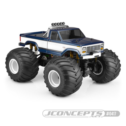 "J Concepts 0417 1984 Ford F-250 Body (10.75"" wheelbase)"