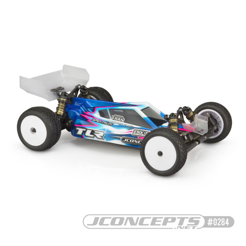 J Concepts 0284L P2 - TLR 22 5.0 Elite Body w/ S-Type Wing, Light Weight