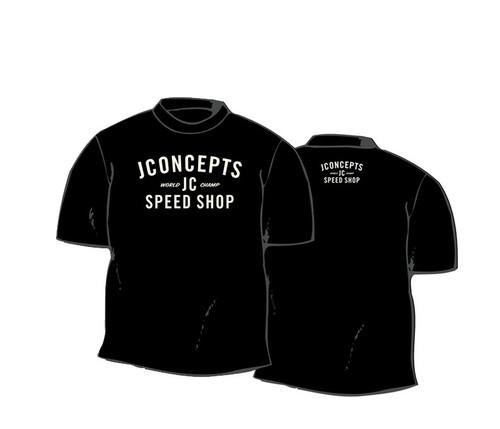 J Concepts 2873L Speed Shop T-Shirt, Large