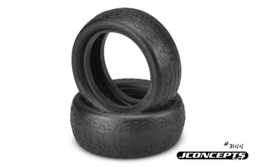 "J Concepts 314407 Octagons 2.2"" 4wd Front Buggy Tires-Mega Soft Black Compound"