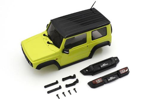 Kyosho MXB03Y Yellow Suzuki Jimny Sierra Body for Mini-Z 4x4
