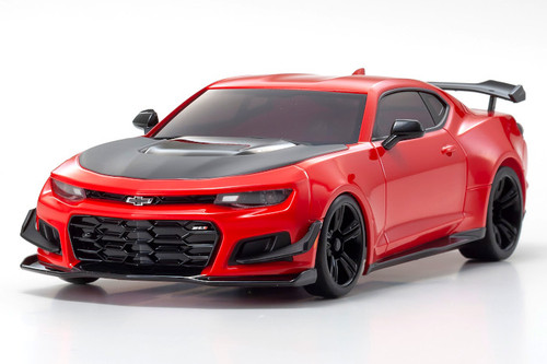 Kyosho MZP242R Red Hot Chevrolet Camaro ZL1 Mini-Z Autoscale Body