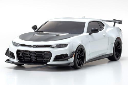 Kyosho MZP242W Summit White Chevrolet Camaro ZL1 Mini-Z Autoscale Body