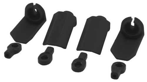 RPM R/C Products 80402 Shock Shaft Guards, for Slash, Nitro Slash, & Durango, 1/10