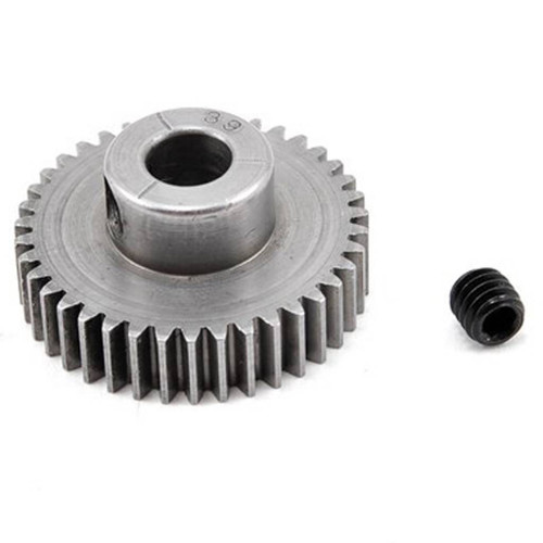 Robinson Racing 2037 Hard 48 Pitch Machined 39 Toot Pinion 5mm Bore