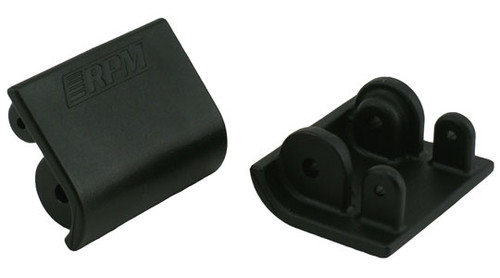 RPM R/C Products 82162 BAJA LWR SHOCK SKID PLATE BLACK