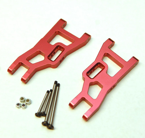 ST Racing Concepts ST3631XR Red Heavy Duty Front Suspensio Arms w/ Lock Nut Hinge Pins
