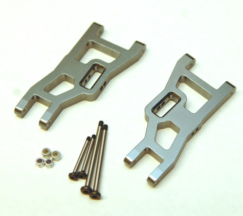 ST Racing Concepts ST3631XGM Gun Metal Heavy Duty Front Sus Arms w/ Lock Nut Hinge Pins