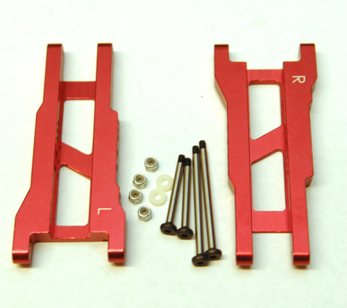 ST Racing Concepts ST2555XS Silver Heavy Duty Rear Suspens Arms w/ Lock Nut Hinge Pins