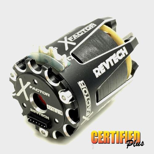 Trinity REV1102X1 X-Factor 17.5T Certified Plus Spec 1-Cell On-Road Motor