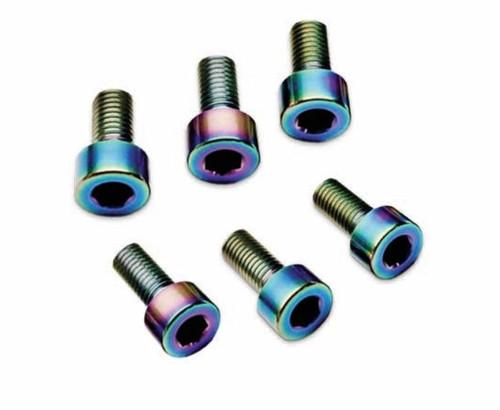 Trinity REV1133 Oil Slick Titanium Screw Kit, 6pcs