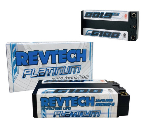 Trinity REV2037-5 Revtech 6100 7.6v LiPo-Hi-Volt Battery Shorty Pack