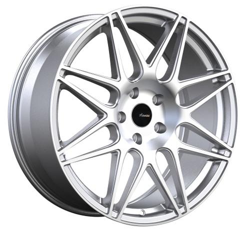 Advanti Racing CL9A51045S Classe 19x8.5 5x100 45mm Offset Silver Machine Face Wheel