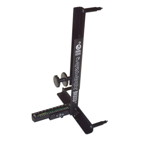 SPC Performance 91000 Caster / Camber Gauge - Analog - 13 in to 17 in Wheels - Steel - Black Paint - Kit