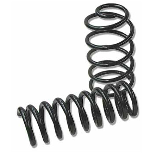 SPC Performance 94393 Suspension Spring Kit - 1 in Lowering - 4 Coil Springs - Black Paint - GM F-Body 1967-69 - Kit
