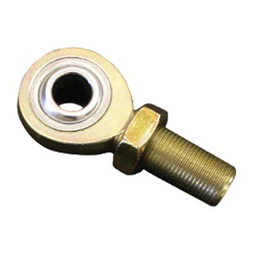 SPC Performance 97100 Rod End - AM Series - Spherical - 5/8 in Bore - 3/4-16 in Left Hand Male Thread - Steel - Zinc Oxide - Each