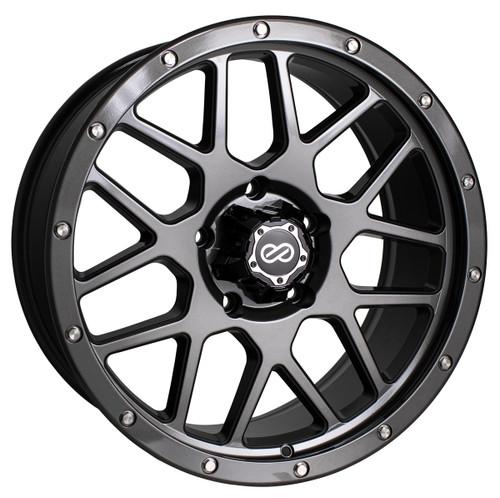 Enkei 526-290-8415GM Matrix Gloss Gunmetal Truck Wheel 20x9 6x139.7 15mm Offset 108mm Bore