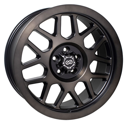 Enkei 526-790-8410BB Matrix Brushed Black Truck Wheel 17x9 6x139.7 10mm Offset 108mm Bore