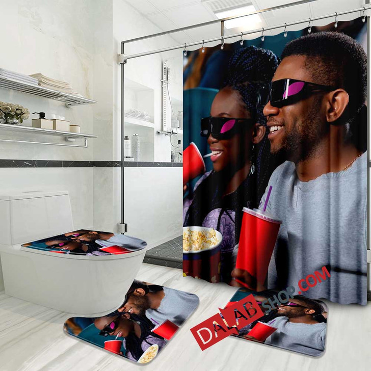 Movie Couple of Days D 3D Customized Personalized Bathroom Sets
