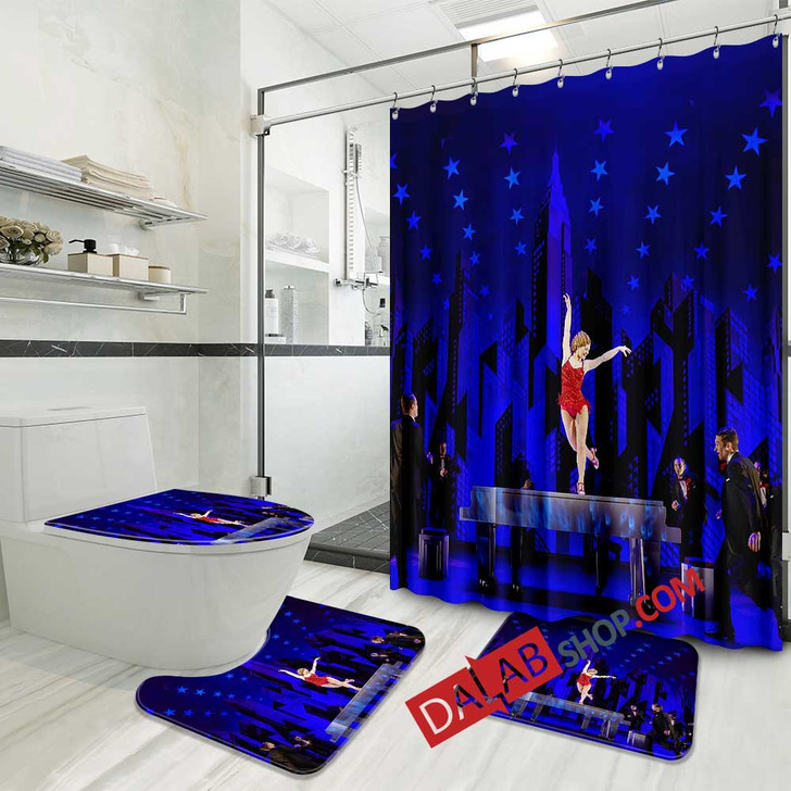 42nd Street Broadway Show V 3D Customized Personalized Bathroom Sets
