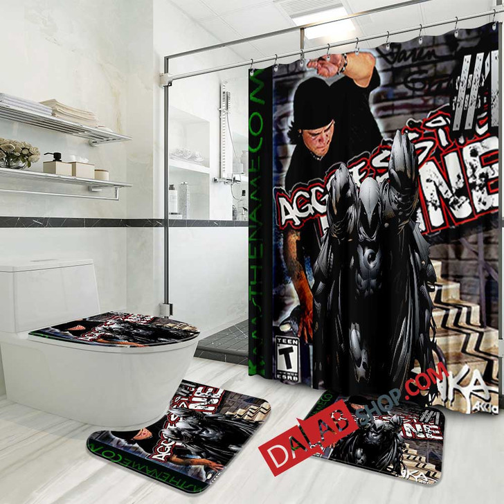 Aggressive Inline PS2 GAME 3D Customized Personalized Bathroom Sets