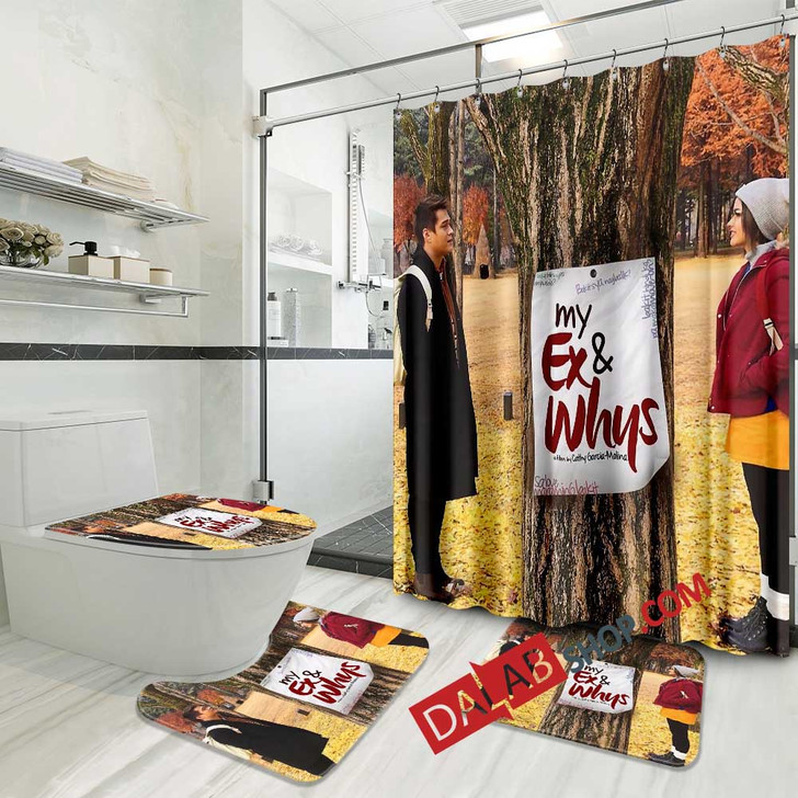 Movie My Ex & Whys v 3D Customized Personalized Bathroom Sets