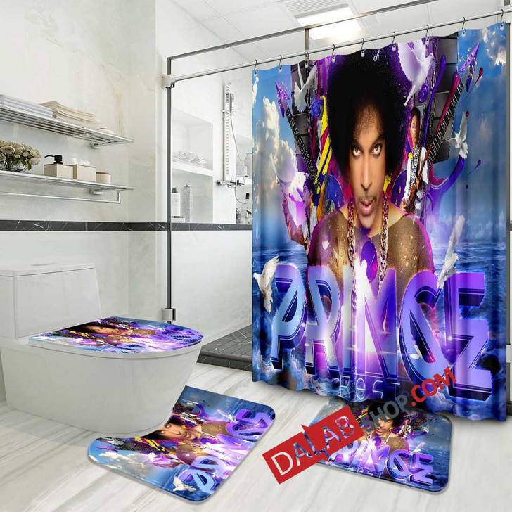 Musical Artists '80s Prince1N 3D Customized Personalized Bathroom Sets