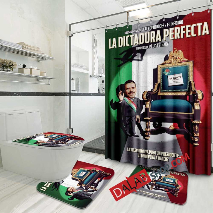 Netflix Movie The Perfect Dictatorship d 3D Customized Personalized Bathroom Sets