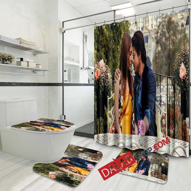 Movie Jab Harry Met Sejal n 3D Customized Personalized Bathroom Sets